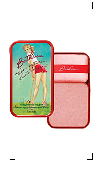 Benefit / BATHINA TAKE A PICTURE...IT LASTS LONGER...A SILKY GLIMMERING BODY BALM