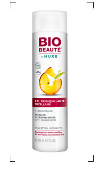 Bio beaute by Nuxe / EAU DEMAQUILLANTE MICELLAIRE A L'EAU D'ORANGE