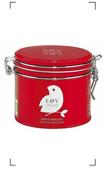 Lov organic / FRUITS ROUGES BOITE EN METAL