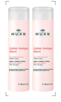 Nuxe / LOTION TONIQUE DOUCE 2 PIECES SET