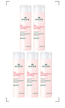 Nuxe / EAU DEMAQUILLANTE MICELLAIRE 5PC SET