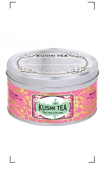 Kusmi Tea / THE VERT A LA ROSE BOITE METAL