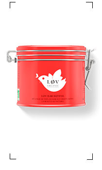 Lov organic / LOV IS BEAUTIFUL  BOITE EN METAL