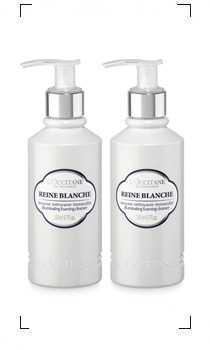 L'Occitane / REINE BLANCHE MOUSSE NETTOYANTE IMMACULEE