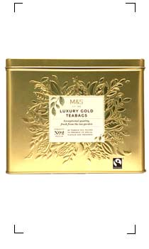 Marks&Spencer / LUXURY GOLD TEABAGS NO2 MEDIUM