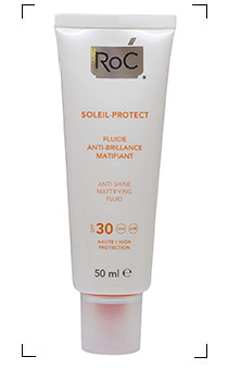 Roc / SOLEIL-PROTECT  FLUIDE ANTI-BRILLANCE MATIFIANT SPF30