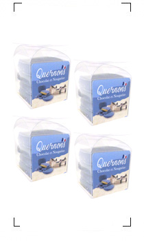 Quernon / CHOCOLAT BLEU 4PIECES X 4SET