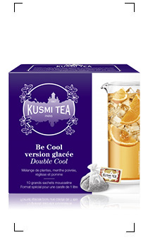 Kusmi Tea / THE GLACE DOUBLE COOL