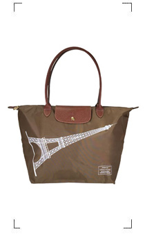 Longchamp / LE PLIAGE TOUR EIFFEL KHAKI TAILLE M/LONG