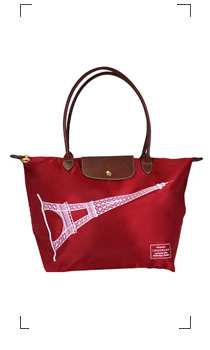 Longchamp / LE PLIAGE TOUR EIFFEL ROUGE TAILLE M/LONG