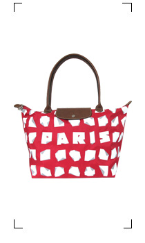 Longchamp / LE PLIAGE PARIS ROUGE TAILLE M/LONG
