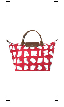 Longchamp / LE PLIAGE PARIS ROUGE TAILLE M/SHORT