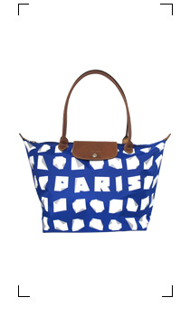 Longchamp / LE PLIAGE PARIS BLEU TAILLE M/LONG