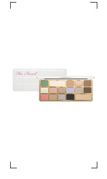 Too Faced / WHITE CHOCOLATE BAR PALETTE DE FARDS A PAUPIERES