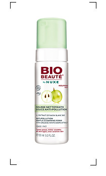 Bio beaute by Nuxe / ANTI-POLLUTION MOUSSE NETTOYANTE