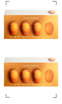 Fauchon / 12 MINI MADELEINES NATURE
