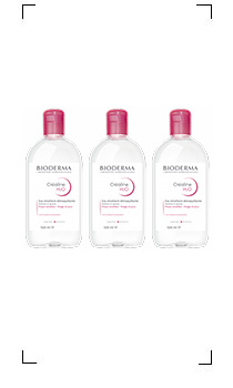 Bioderma / CREALINE H2O SOLUTION MICELLAIRE X 3 PIECES